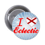I Love Eclectic, Alabama Button