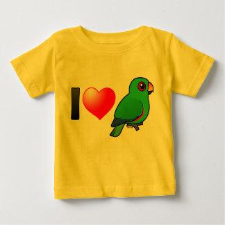 I Love Eclectus Parrots (male) Shirt