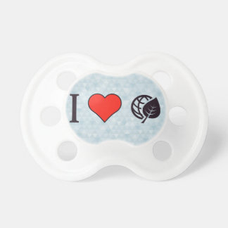 I Love Eco-Friendly Environment BooginHead Pacifier