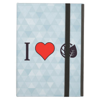 I Love Eco-Friendly Environment Case For iPad Air