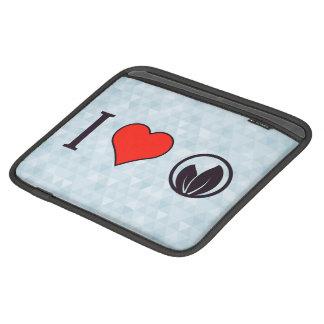 I Love Ecological Campaigns iPad Sleeve