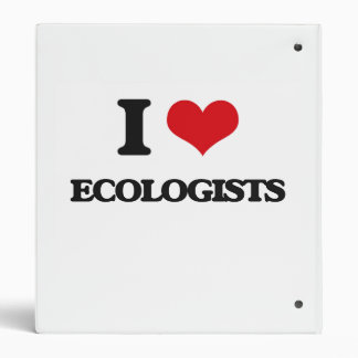 I love ECOLOGISTS 3 Ring Binders