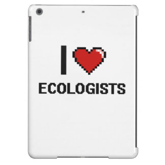I love Ecologists iPad Air Cover