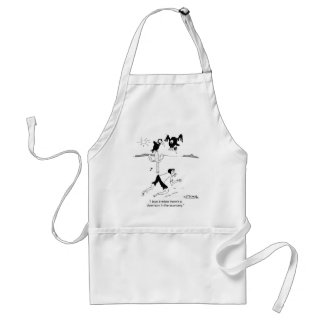 I Love Economic Downturns Adult Apron