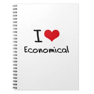 I love Economical Note Book