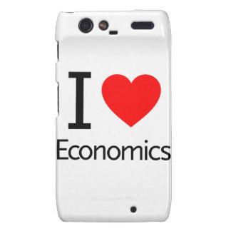 I Love Economics Motorola Droid RAZR Case