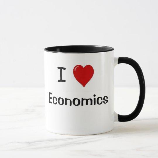 I Love Economics Economics Loves me Mug