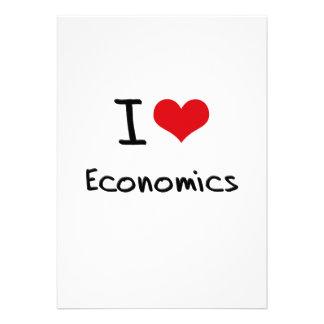 I love Economics Custom Invite
