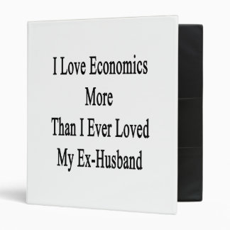 I Love Economics More Than I Ever Loved My Ex Husb Binders