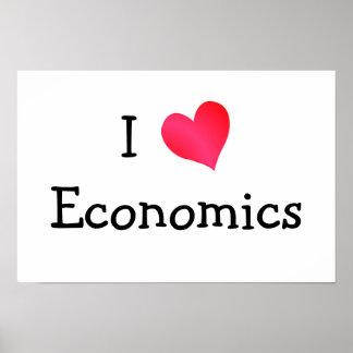 I Love Economics Print