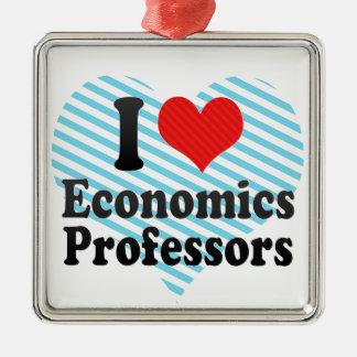 I Love Economics Professors Christmas Ornament