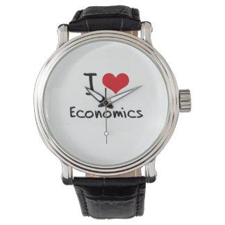 I love Economics Wristwatch