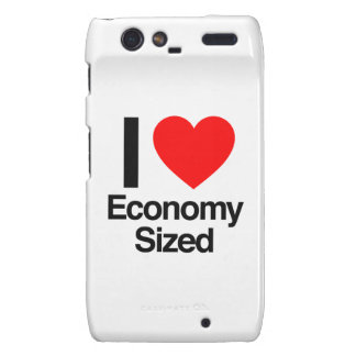 i love economy sized motorola droid RAZR cases