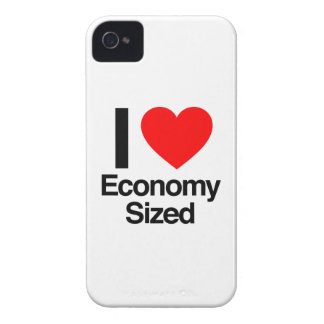 i love economy sized iPhone 4 Case-Mate cases