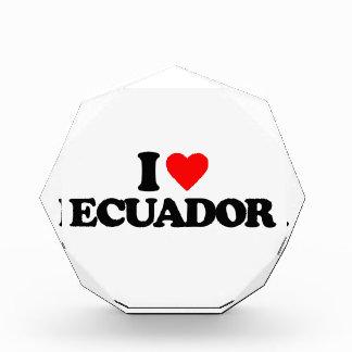 I LOVE ECUADOR AWARD