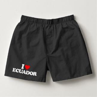 I LOVE ECUADOR BOXERS