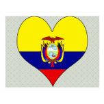 I Love Ecuador Postcard