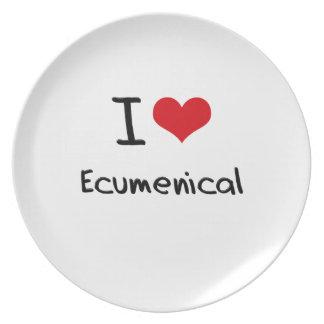I love Ecumenical Plate