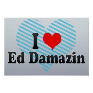 I Love Ed Damazin, Sudan Print