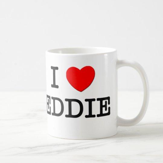 I Love Eddie Coffee Mug