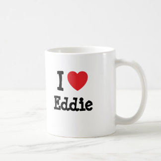 I love Eddie heart custom personalized Coffee Mug