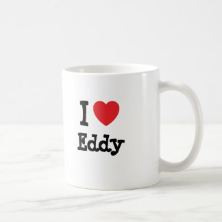 I love Eddy heart custom personalized Coffee Mug