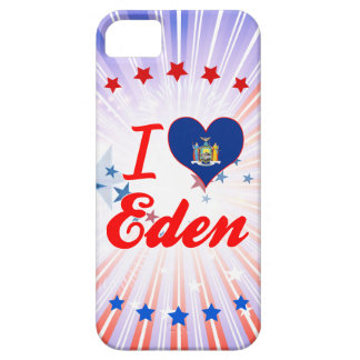 I Love Eden, New York iPhone 5 Cases