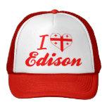 I Love Edison, Georgia Hats