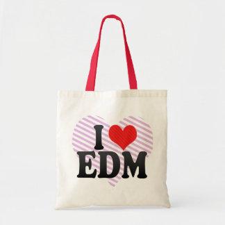 I Love EDM Canvas Bag