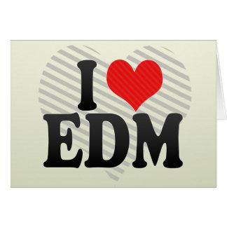 I Love EDM Cards