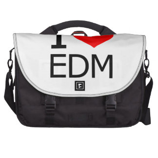 I Love EDM Bags For Laptop