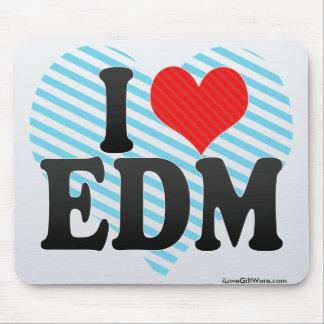 I Love EDM Mouse Pad