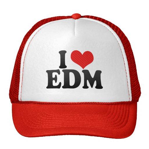 I Love EDM Trucker Hat