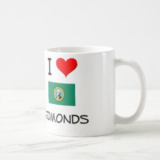I Love Edmonds Washington Mug
