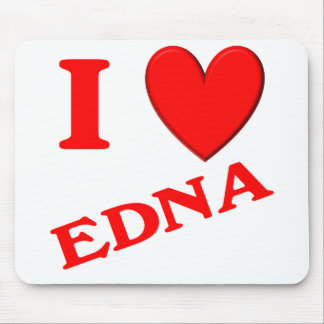 I Love Edna Mouse Pad