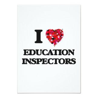 I love Education Inspectors 5x7 Paper Invitation Card