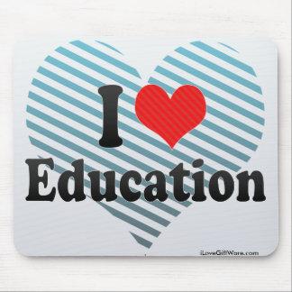 I Love Education Mouse Pad