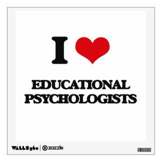 I love Educational Psychologists Wall Skin
