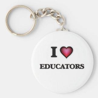 I love Educators Keychain
