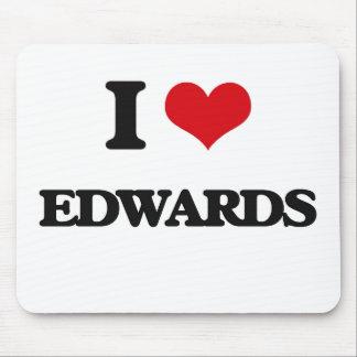 I Love Edwards Mouse Pad