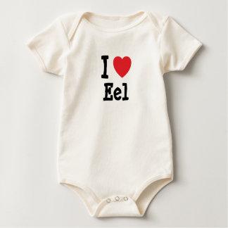 I love Eel heart T-Shirt