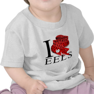 I Love Eels Baby's Shirt