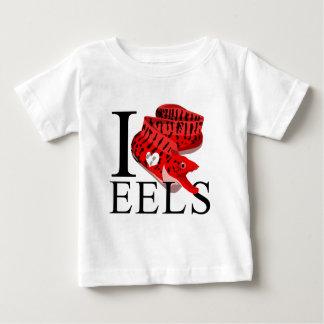 I Love Eels Baby's T-shirt
