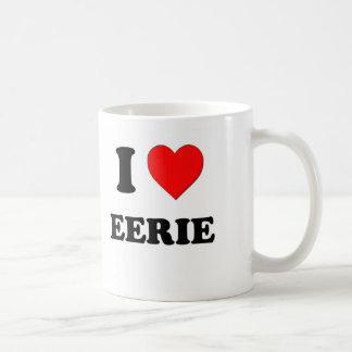 I love Eerie Coffee Mug