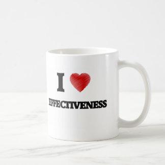 I love EFFECTIVENESS Coffee Mug