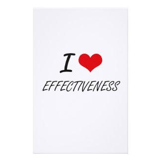 I love EFFECTIVENESS Stationery