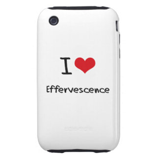 I love Effervescence iPhone 3 Tough Cover