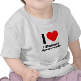 i love efficiency apartments tshirt