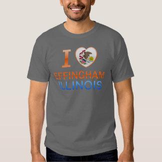 I Love Effingham, IL T-shirt