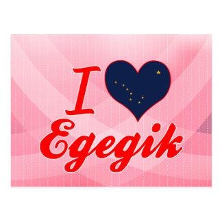 I Love Egegik, Alaska Post Cards